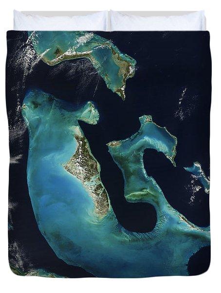 The Bahamas Duvet Cover by Adam Romanowicz