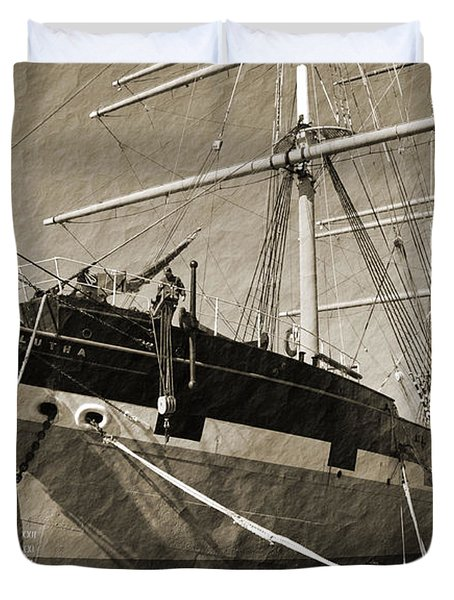 The Balclutha Duvet Cover by Holly Blunkall