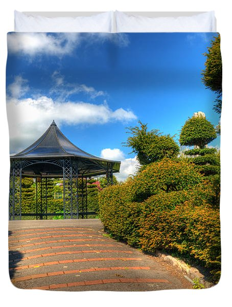 The Bandstand Duvet Cover by Steve Purnell