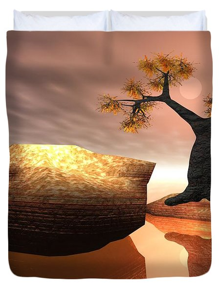 The Baobab Tree Duvet Cover
