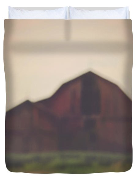 The Barn Daylight Version Duvet Cover