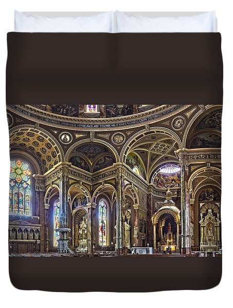 The Basilica Of St. Josaphat Duvet Cover