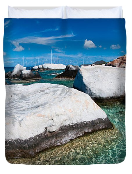 The Baths Duvet Cover by Adam Romanowicz