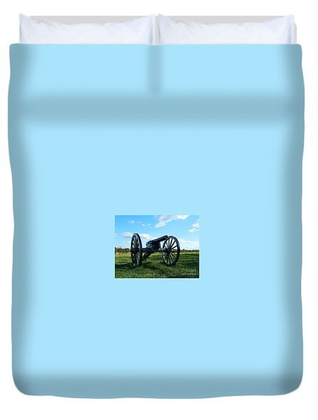 Duvet Cover featuring the photograph The Battle Is Over - Gettysburg by Emmy Marie Vickers