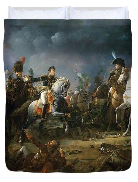 The Battle Of Austerlitz Duvet Cover