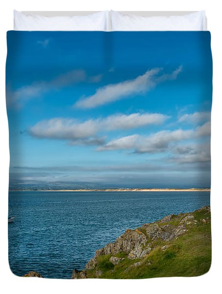The Beacon  Duvet Cover by Adrian Evans