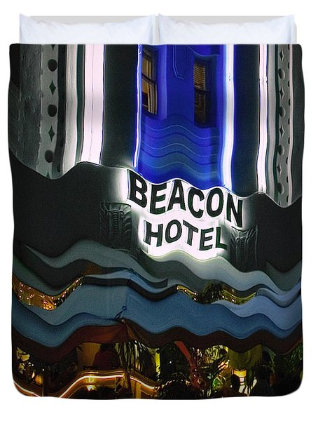The Beacon Hotel Duvet Cover