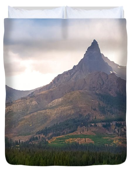 The Beartooth Mountains   Duvet Cover