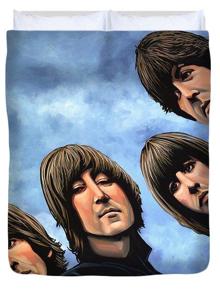 The Beatles Rubber Soul Duvet Cover