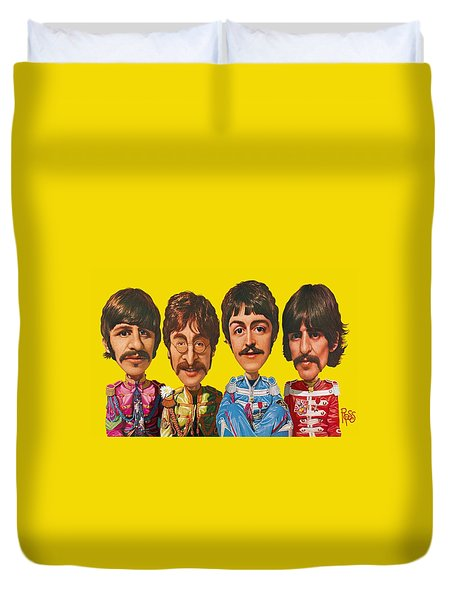 The Beatles Duvet Cover
