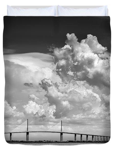The Beautiful Skyway Duvet Cover