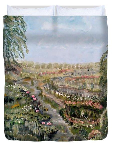 The Beauty Of A Marsh Duvet Cover