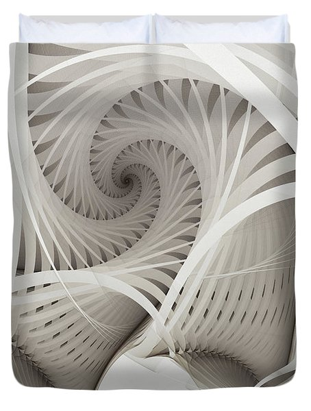 The Beauty Of Math-fractal Art Duvet Cover