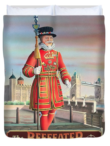 The Beefeater Duvet Cover by Peter Green