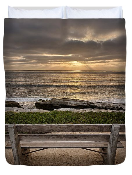 The Bench IIi Duvet Cover