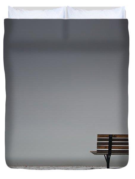 The Bench Duvet Cover