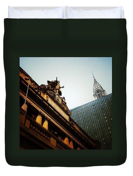 The Big Apple Duvet Cover by Natasha Marco