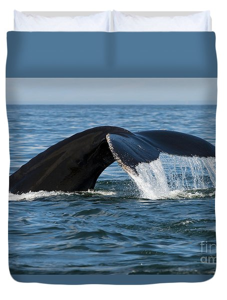 The Big Blue In The Bigger Blues... Duvet Cover