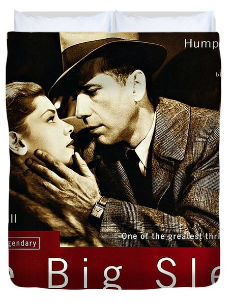 The Big Sleep  Duvet Cover