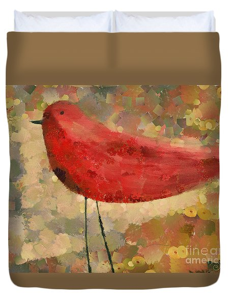 The Bird - K04d Duvet Cover by Variance Collections
