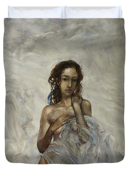 The Birth Of Aphrodite  Duvet Cover