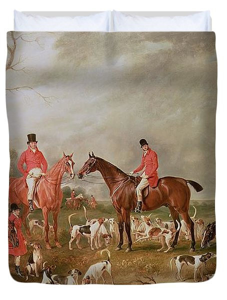 The Birton Hunt Duvet Cover