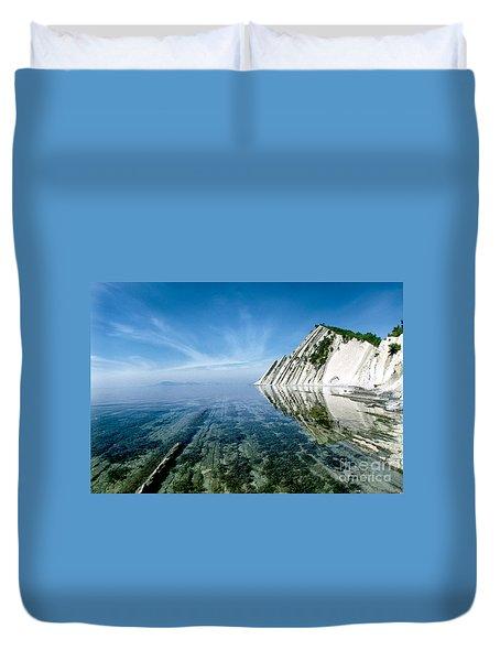 The Black Sea Coast Duvet Cover by Vladimir Sidoropolev