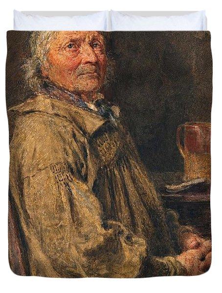 The Blessing Duvet Cover by William Henry Hunt