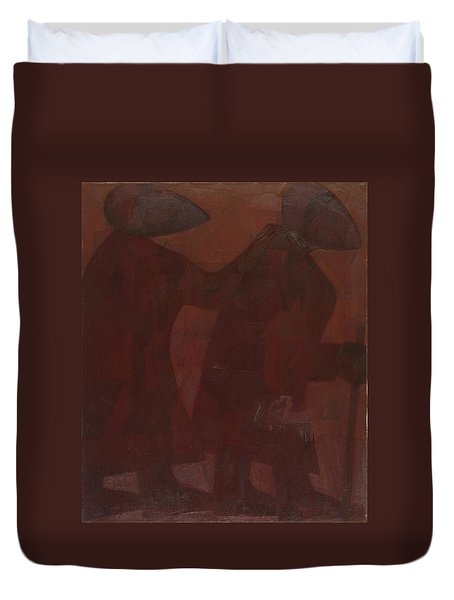 The Blind Men Duvet Cover