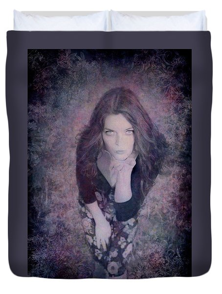 The Blown Kiss Duvet Cover by Loriental Photography