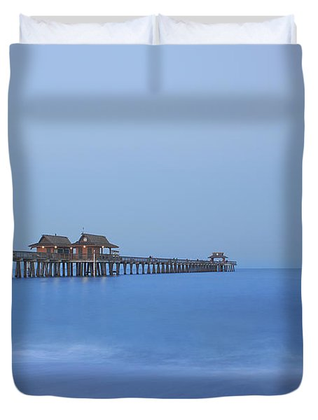 The Blue Hour Duvet Cover by Kim Hojnacki