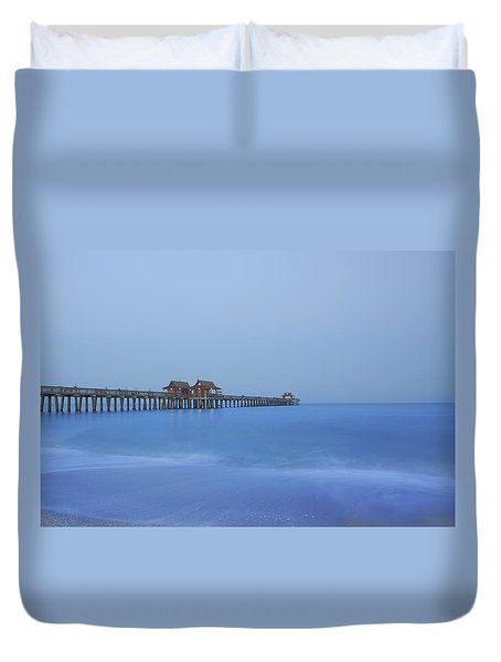 The Blue Hour Duvet Cover