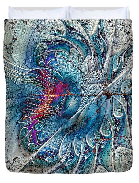 The Blue Mirage Duvet Cover