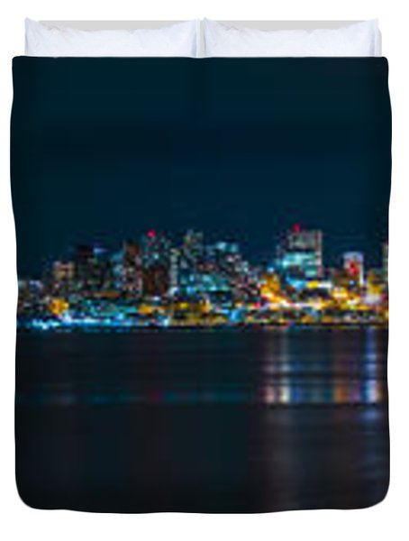 The Blue Monster Duvet Cover by James Heckt