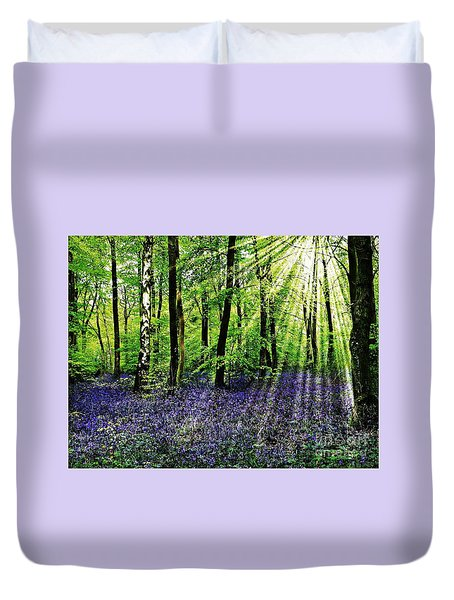 The Bluebell Woods Duvet Cover