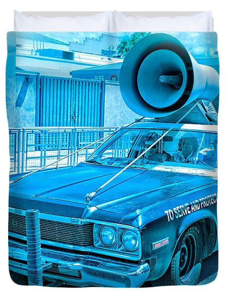 The Blues Brothers Duvet Cover by Edward Fielding