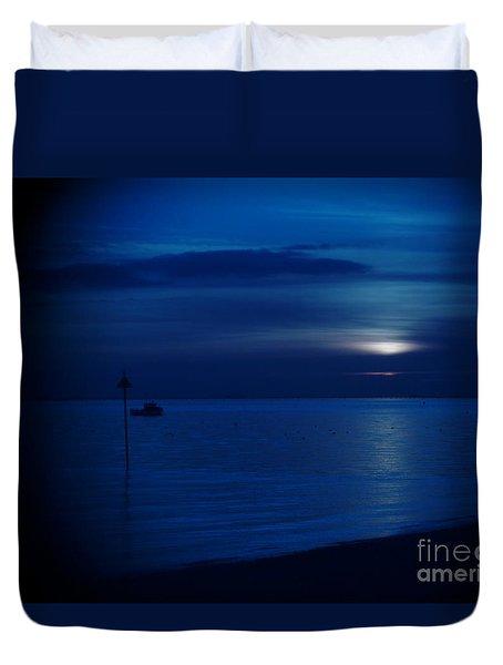 The Blues Duvet Cover by Vicki Spindler