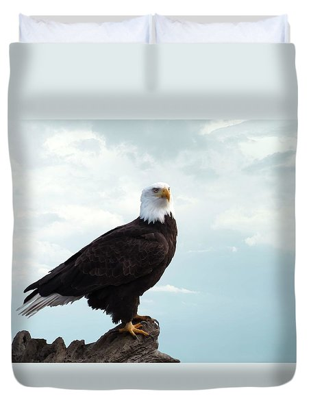 Duvet Cover featuring the photograph The Bold One by I'ina Van Lawick