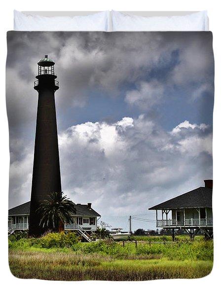 The Bolivar Lighthouse Duvet Cover