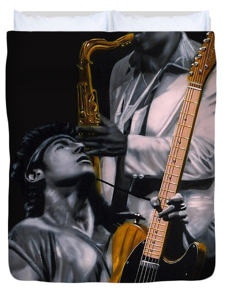 Bruce And Clarence Duvet Cover