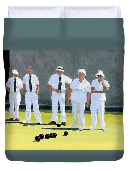 The Bowling Party Duvet Cover