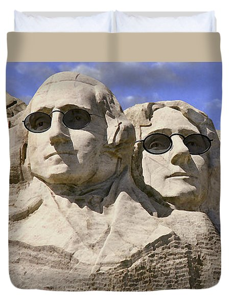 The Boys Of Summer 2 Panoramic Duvet Cover