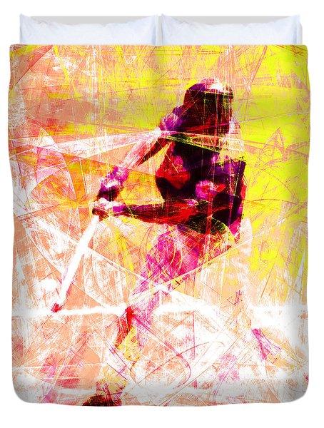 The Boys Of Summer 5d28228 The Batter Square V2 Duvet Cover