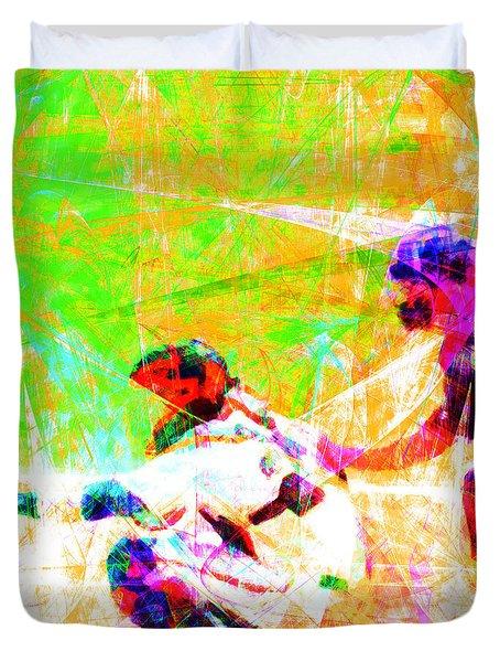 The Boys Of Summer 5d28228 The Catcher Square Duvet Cover