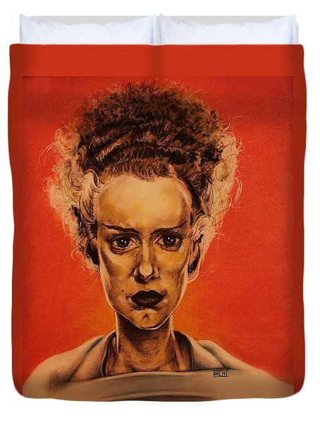 The Bride Of Frankenstein Duvet Cover