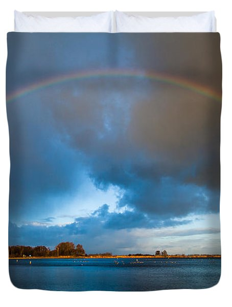 The Bridge Across Forever Duvet Cover