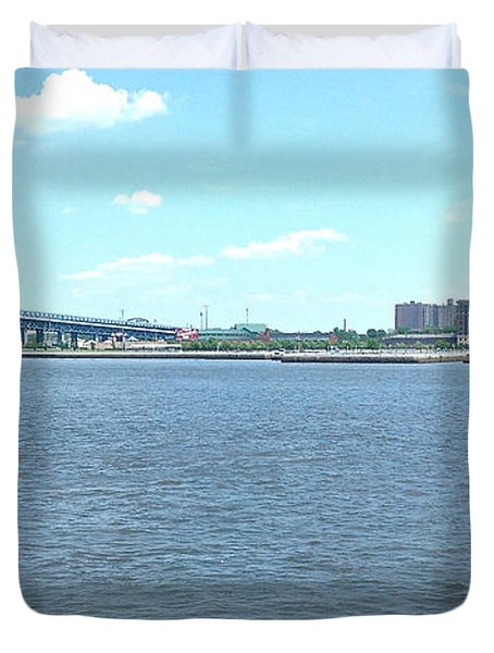 The Bridge And The River Duvet Cover