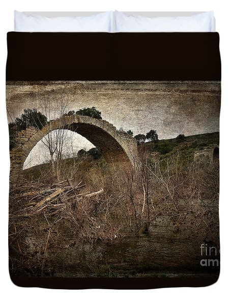 The Bridge Of Mantible Duvet Cover