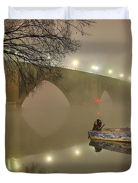 The Bridge To Nowhere Duvet Cover