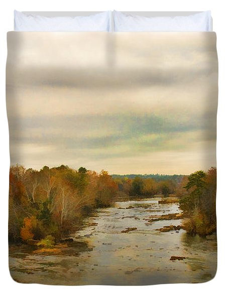 The Broad River Duvet Cover
